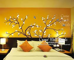Tree Wall Decals Blue Birds Vinyl Wall Cuma Wall Decals
