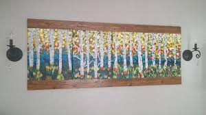 creative way to hang your paintings