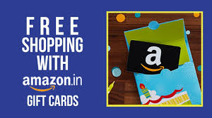free amazon gift cards how to get free
