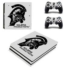 Metal Gear Solid Kojima Productions Ps4 Pro Skin Sticker For Playstation 4 Console And Controller Ps4 Pro Sticker Decal Vinyl Aliexpress