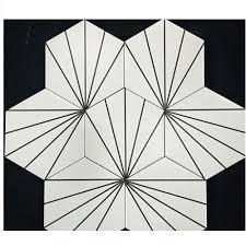 china white hexagon wall tiles 3d