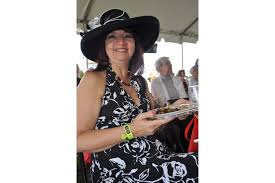 PHOTO GALLERY: Wine Festival - Cindy Lawson enjoyed the cooking  demonstration.   Your Observer