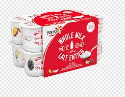 milk cream yoplait yoghurt nutrition