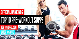 best pre workout supplements top 10