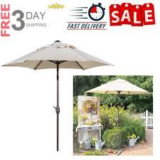 patio umbrella with crank lift