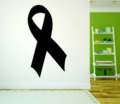 Decal Wall Breast Cancer Awareness Ribbon 20x30 Contemporary Wall Decals By Design With Vinyl