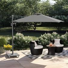 outdoor 3m square cantilever parasol