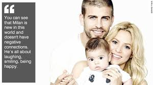gerard pique and shakira power couple