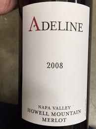 Adeline Merlot   Wine Info