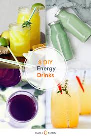 8 diy energy drinks to help power your