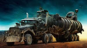 war rig from mad max fury road hd wallpaper