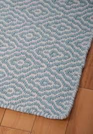 savannah eco cotton rug light blue