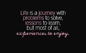 Quotes about Enjoying the experience (40 quotes)