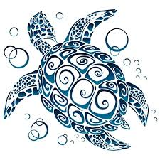 Hawaii Turtle Car Window Sticker Turtle Car Window Decal
