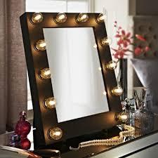 mirror illuminated