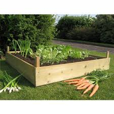 how to make your own raised garden out