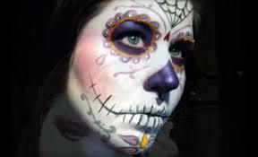 sugar skull makeup looks for