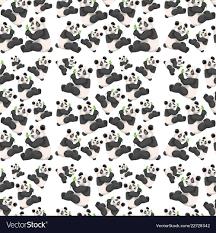seamless cute panda wallpaper royalty