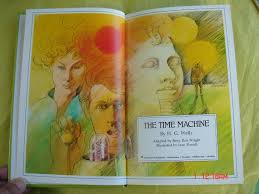 The Time Machine by H. G. Wells Adapted by Betty Ren Wright | Etsy