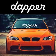 Creative Stickers Dapper Letters Car Vehicle Body Window Reflective Decals Sticker Decoration Auto Stickers Exterior Accessories Aliexpress