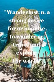 the best travel quotes that make you wanna leave now • rosy melissa