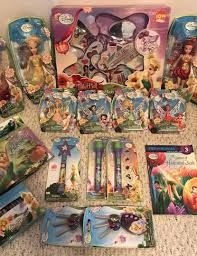 tinkerbell disney fairies 9 dolls 4