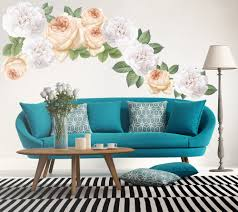 Floral Peel And Stick Wall Decals Deaclideas Wall Decals