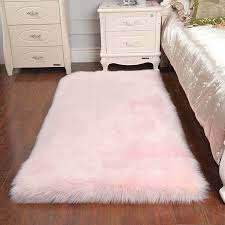 who long wool rug thick faux fur