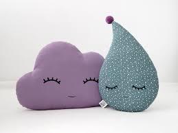 Baby Crib Cushions Cloud And Raindrop Pillows Baby Girl Nursery Kids Room Decor Drop Cushion Ch Kids Pillows Nursery Decor Pillows Girls Room Accessories