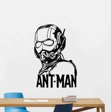 Ant Man Poster Wall Decal Vinyl Sticker Stencil Ant Man Etsy