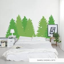 Pine Tree Wall Decal Pine Tree Wall Sticker Wallums
