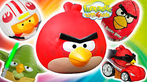 Angry Birds epic video of Angry Birds toys and funny sets Star Wars, Dea...  | Bird toys, Angry birds, Star wars