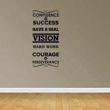 Success Word Collage Vinyl Wall Decals Inspirational Decal Office Decal Jp63 Walmart Com Walmart Com