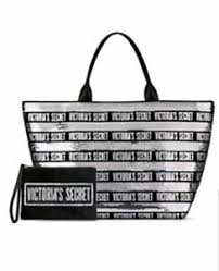 nwt striped sequins bling tote bag