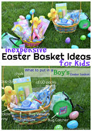 inexpensive easter basket ideas for