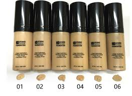 nyx high definition foundation