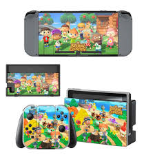 Animal Crossing Skin Sticker For Nintend Switch Ns Console Controller Game Sticker Vinyl Decal Protector Nintendoswitch Stickers Aliexpress