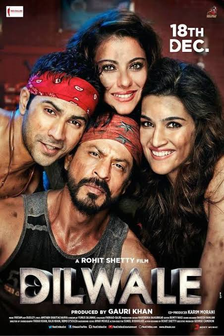 DilWale (2015) – 1080p Bluray-AVC -Dolby Atmos 7.1-DD EX 5.1 Hindi Audio | DB9 | 12 GB |
