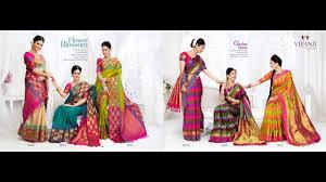 chennai silks silk saree collection