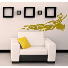 Shop Jaguar Leopard Panther Wall Art Sticker Decal Size 44x70 Color Black Free Shipping Today Overstock 13215482