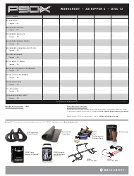 chest and back p90x worksheet