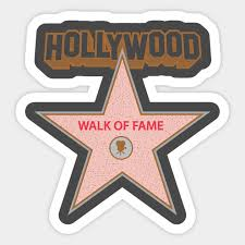 Walk Of Fame Camera Icon Walk Of Fame Sticker Teepublic