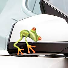 Universal Car Sticker 3d Peep Frog Funny Car Stickers Truck Stereo Frog Window Decal Wrap Decor Car Stickers Aliexpress