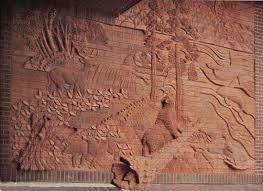 Mara Smith - Carving Brick Murals and Sculptures