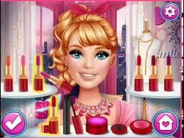barbie doll cartoon princess makeup