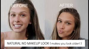 how to look older than 16 w makeup