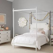 colette teen canopy bed pottery barn teen