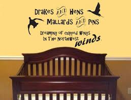 Drakes And Hens Mallards And Pins Dreaming Of Cupped Wings In Etsy Hunting Baby Nursery Baby Room Hunting Baby Showers