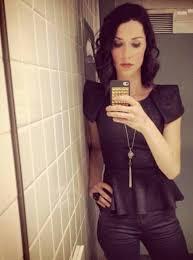 Gotta love a public bathroom selfie - Abby Martin : abbymartin