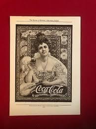 1904, Coca-Cola, (Hilda Clark) Advertisement (Scarce) | eBay